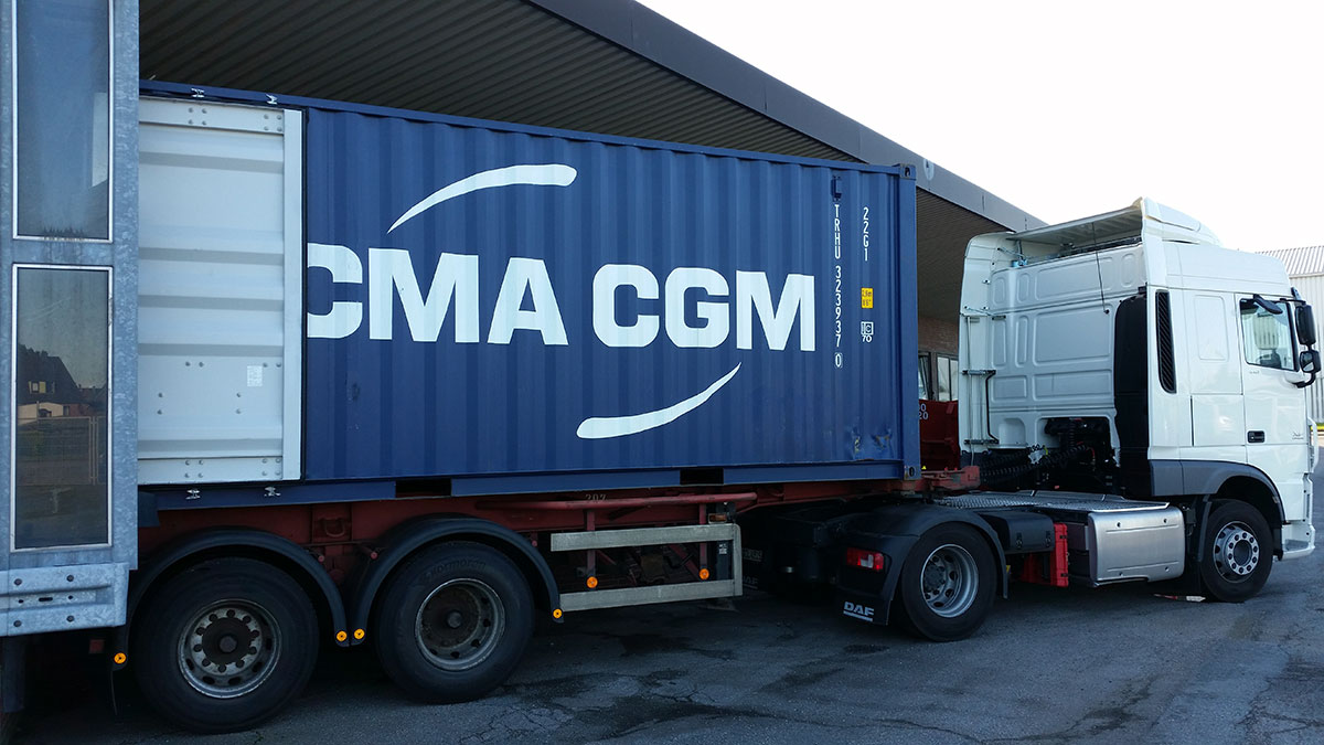 Lieferung Container 2015 aus Peru