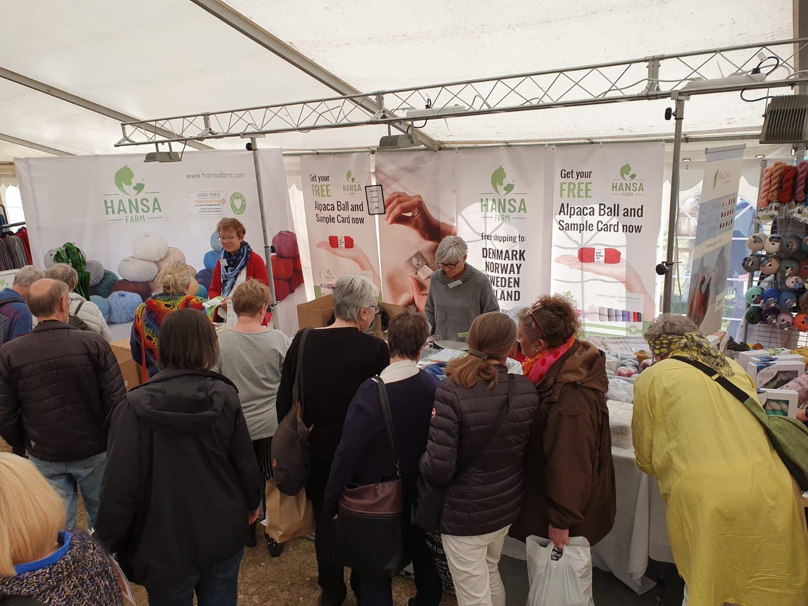 Wollfest DK Besucher