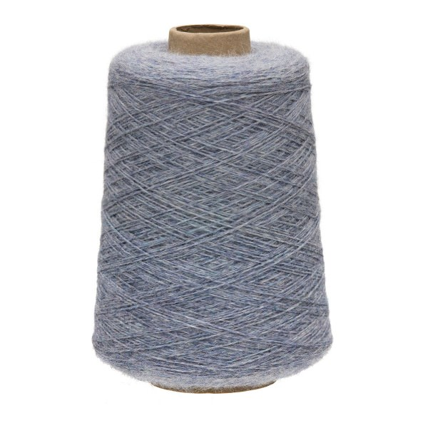 500g Baby Alpakawolle FINGERING Kone Gletscher heather (HF241)