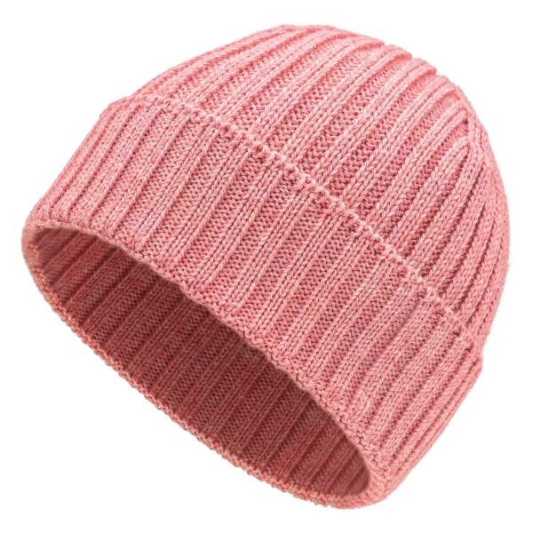 Baby Alpaka 100 Damen und Herren Mütze Perlrosa heather (HF161)