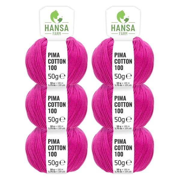 300g Pima Cotton Baumwolle DK (CC193) by fairwool