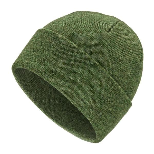 Baby Alpaka 400 Damen und Herren Mütze Mittelgrün heather (HF285)