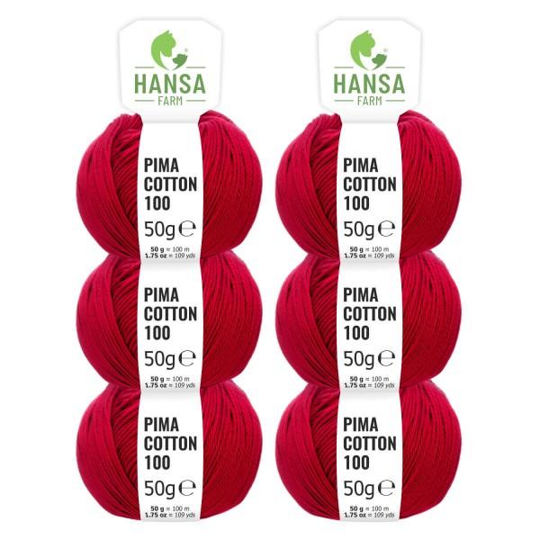 300g Pima Cotton Baumwolle DK (CC177) by fairwool