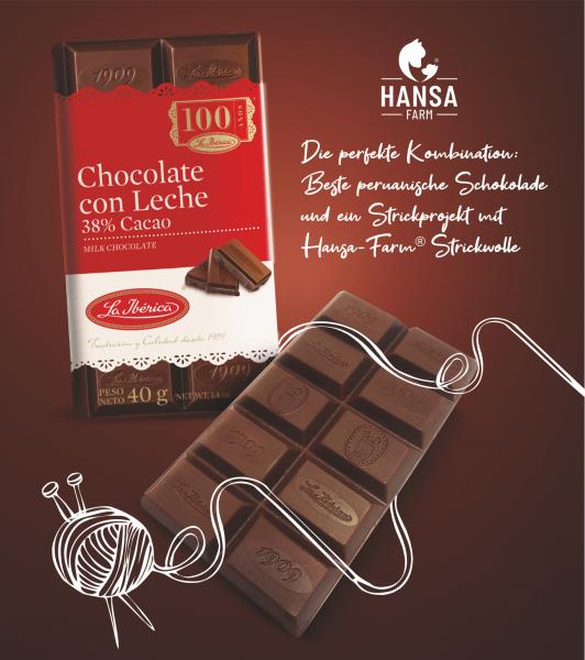 40g La Iberica Schokolade aus Peru