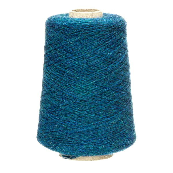 500g Baby Merinowolle Superwash SPORT Kone Deep Ocean heather (HF259)