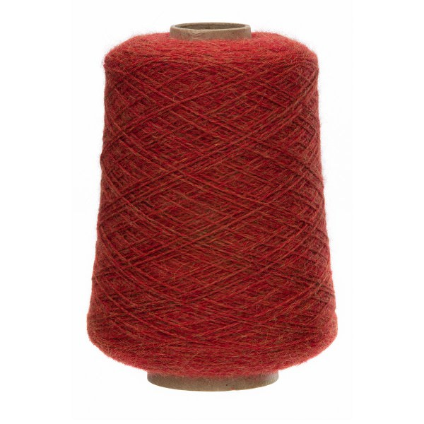 500g Baby Alpakawolle FINGERING Kone Orange heather (HF149)