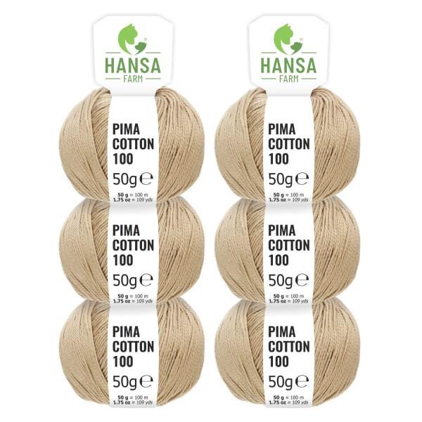 300g Pima Cotton Baumwolle DK (CC323) by fairwool