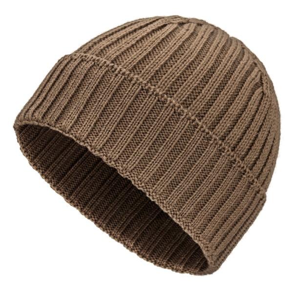 Baby Alpaka 100 Damen und Herren Mütze Cappuccino (NFA03)