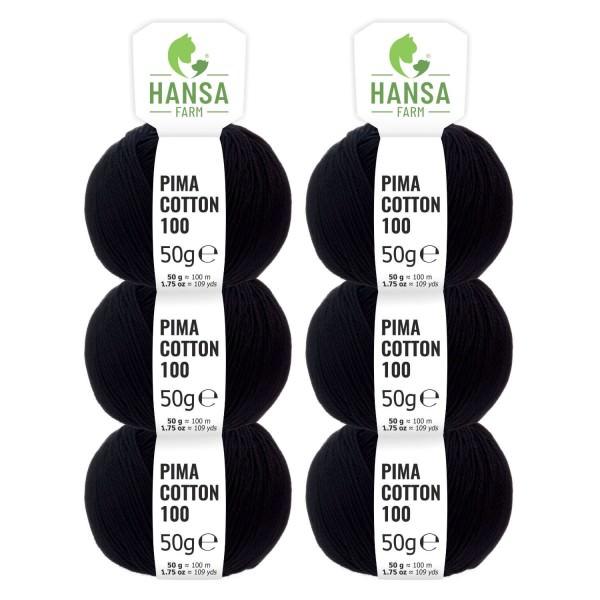 300g Pima Cotton Baumwolle DK (CC15) by fairwool