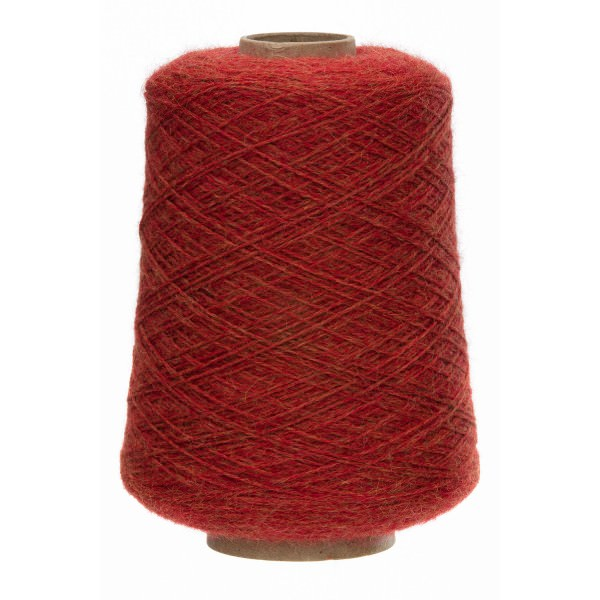500g Baby Alpakawolle DK Kone Orange heather (HF149)
