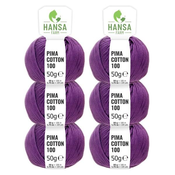 300g Pima Cotton Baumwolle DK (CC214) by fairwool