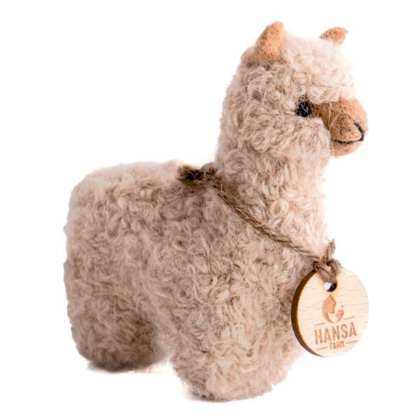 Mini Alpaka Stofftier NFA02
