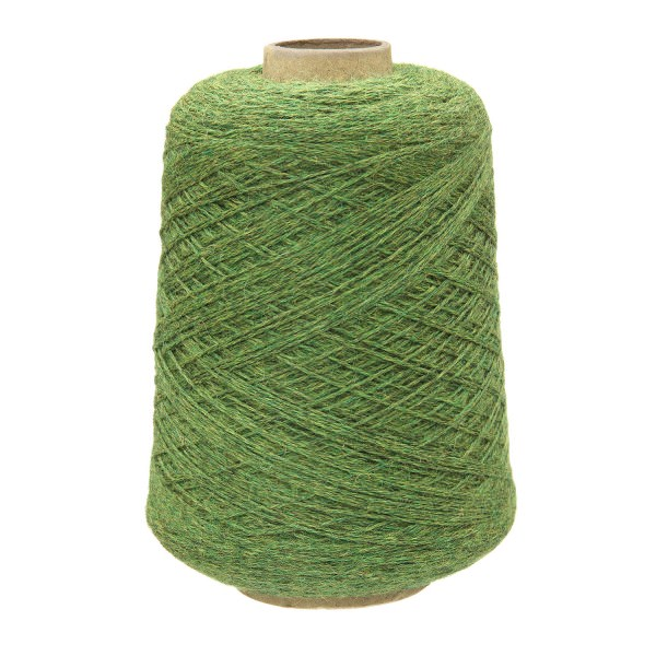 500g Baby Merinowolle Superwash SPORT Kone Mittelgrün heather (HF285)