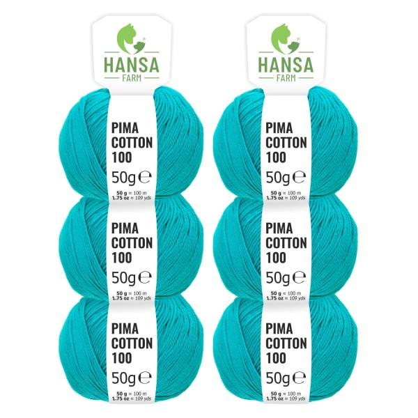300g Pima Cotton Baumwolle DK (CC254) by fairwool
